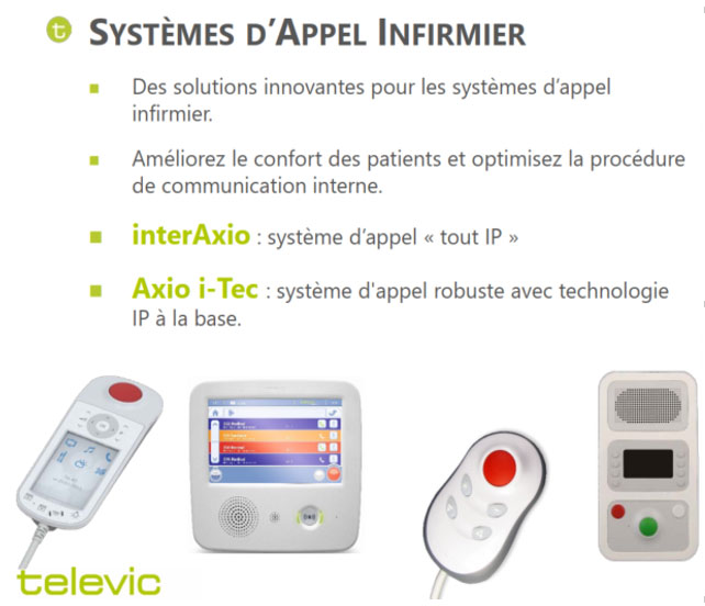 systemes appel infirmier